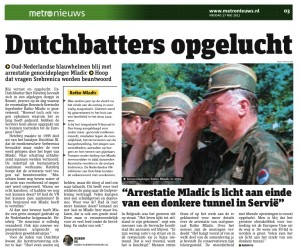 Dutchbat Mladic